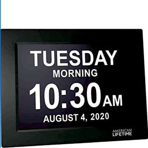 American Lifetime Visually Impaired Day Clock NWOB